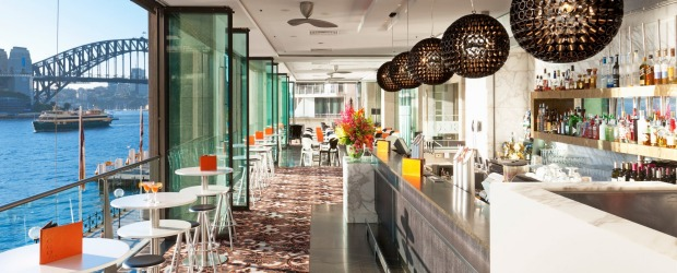 The ECQ Bar at the Pullman Quay Grand Sydney.