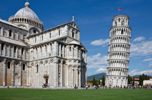 The Leaning Tower of Pisa: Yes, it might be one of the most undeservingly touristy sites in the world (although the ...