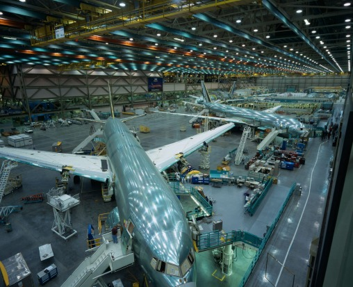 The Boeing Factory, near Seattle: By volume, the Boeing factory in Everett, Washington is the largest building on earth.