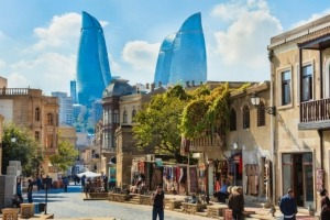 Strange land: Baku, Azerbaijan is a wonderfully mixed-up city.