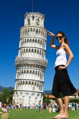 The Leaning Tower of Pisa: Yes, you may have to battle thousands of people taking 'hilarious' selfies.