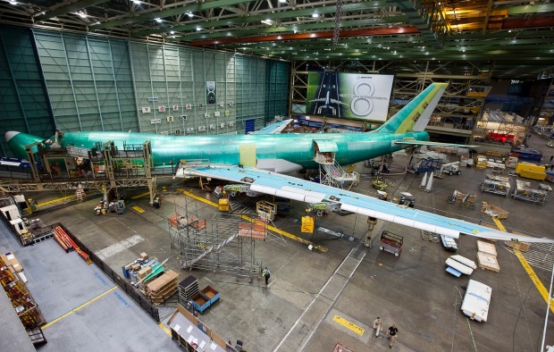 This is where planes are made, and much of the fascination comes from walking through, seeing the component parts slowly ...