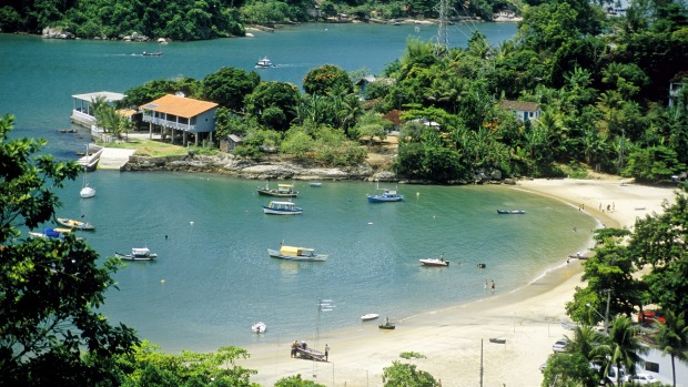 Water water everywhere: Paraty smells salty and a little bit fishy but in an endearing way.