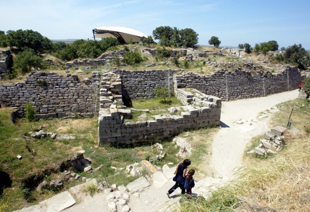 TROY, TURKEY: In the 1860s, excavations in north-western Turkey uncovered the remains of a series of cities built on top ...
