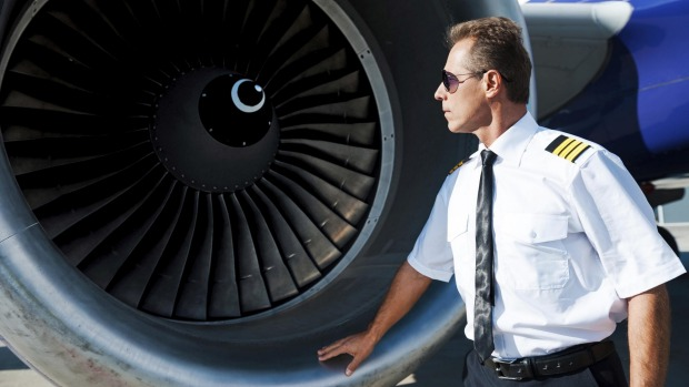 Pilots will perform a 'walk-around' to visually inspect the exterior of the plane before boarding.