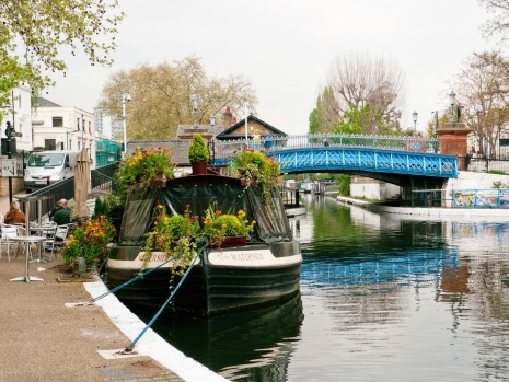 REGENT'S CANAL, LONDON: Even before railways were invented, the Industrial Revolution began with canals. Lots of cities ...
