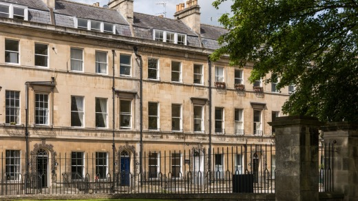 Jane Austen's Home consists of four self-contained apartments lightly themed along Austen lines.