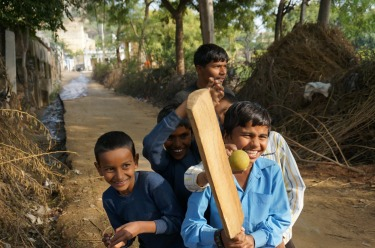 Fort Madhogarh Village, India (January 2015) We met these gorgeous kids while walking around their village. They were on ...