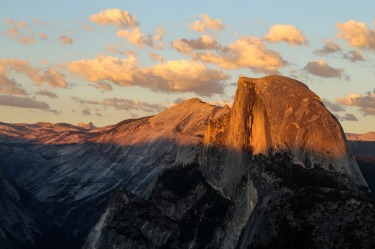 Glacier Point offers a superb view of Yosemite Valley and half-dome. Yosemite National Park was the highlight of our ...