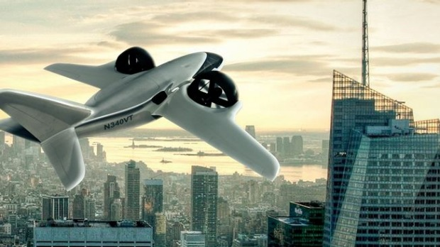 The TriFan 600 aircraft design removes the need for runways.