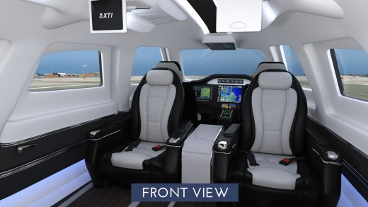 The TriFan 600 can carry up to six passengers.