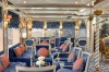 A lounge on Uniworld's SS Maria Theresa.