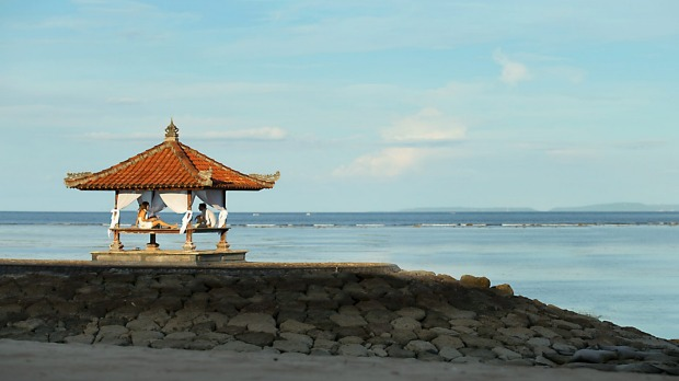 The Holiday Inn Resort Bali Benoa promises relaxation for parent and child alike.