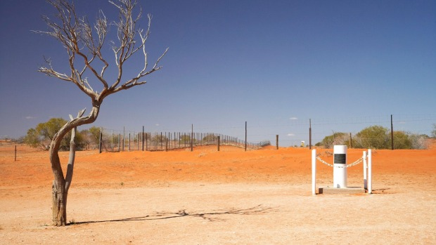 Cameron Corner at the border of South Australia, NSW and Queensland, is a popular outback destination on the edge of ...