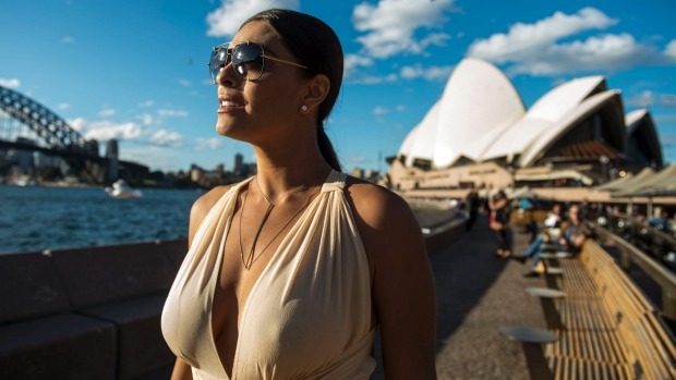 Juliana Paes, dubbed one of the world's sexiest people, is in Australia to film a Brazilian telenovela.