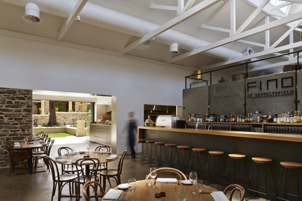 Fino at Seppeltsfield: At Seppeltsfield's​ new restaurant, Fino, it's not just the food that has been artisanally ...