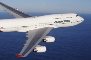 Qantas' 747-400s are getting on but their interiors have been updated.