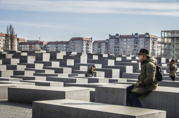 Memorial to the Murdered Jews of Europe, Berlin, Germany: The abstract nature of Peter Eisenman's memorial - usually ...