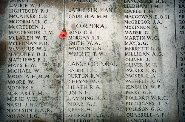 The Menin Gate, Ypres, Belgium: The town of Ypres became the focal point of the World War I deadlock in the Flanders ...