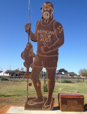 Nyngan: home of The Big Bogan, and an innovative start-up law firm.