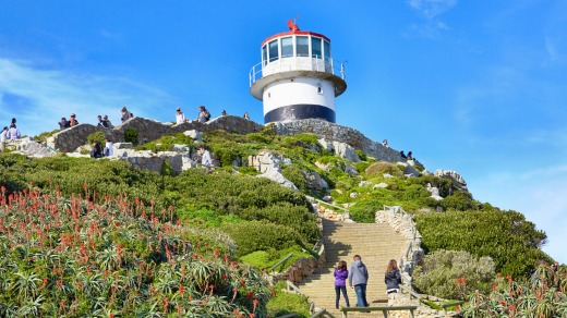 The Old Cape Point Lighthouse.