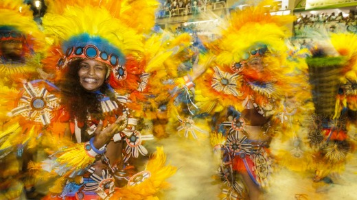 Carnaval is a week-long celebration of the senses.