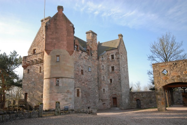 Dairsie Castle in Scotland.