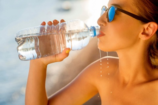 You can't drink the water: Drink bottled water only, and brush your teeth in it too. Bottled water is cheap and many ...
