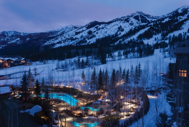 Four Seasons, Jackson Hole, Wyoming, USA.