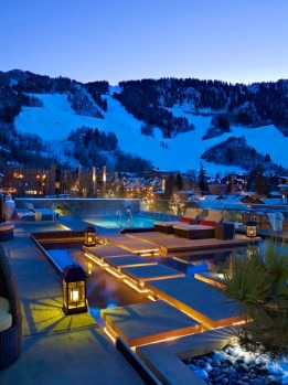 The Residences at The Little Nell, Aspen, Colorado, USA.