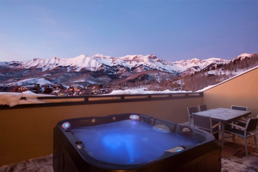 The penthouse at Lumiere Hotel, Telluride, USA.