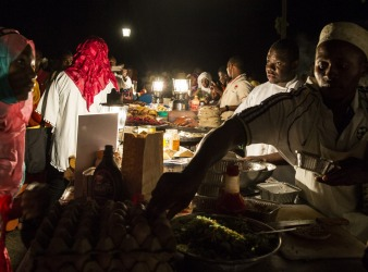 Every Friday night, the Forodhani Gardens in Zanzibar's Stone Town transforms into a bustling Swahili and Zanzibari food ...