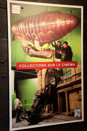 Poster for Lyon's Museum of Miniatures and Cinema.