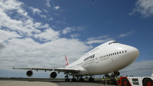 The jumbo jet has been in the Qantas fleet in various forms since 1971.