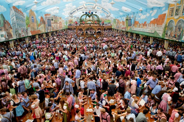 One of the great ways to round off a European summer is and always will be drinking huge, one-litre steins of beer at ...