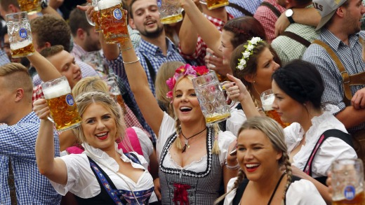 You don't have long to explore the world, so enjoy what you can, when you can: Oktoberfest, the world's largest beer ...