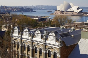The Harbour Rocks Hotel is in the historic heart of Sydney.