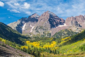 Maroon Bells outside Aspen.