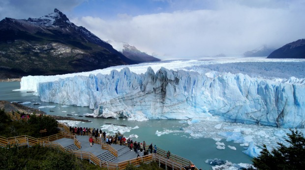 Perito Moreno glacier is a sight so spectacular that photos cannot do it justice.