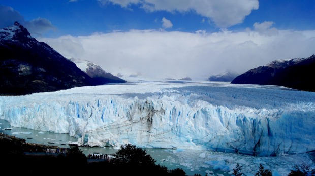 MORENO GLACIER, ARGENTINA. There has been no greater construction firm in the world than glaciers, and they're on their ...