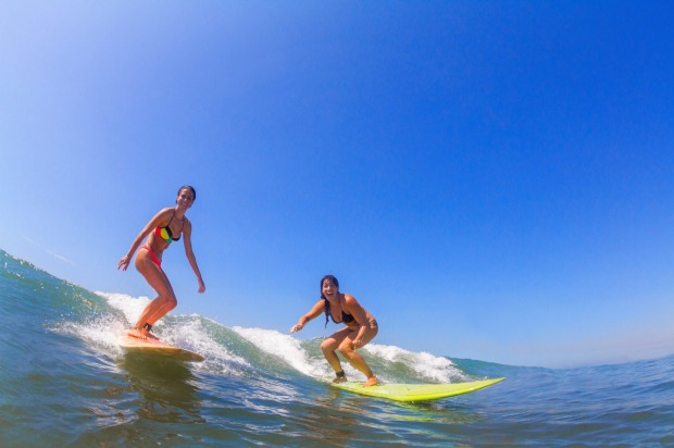 Although the surfing and yoga combo has been around for a while, Georgie White, founder of Ocean Soul Retreat, wanted to ...