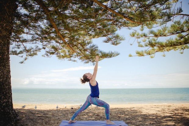 Om and chi ching? Yoga teacher, writer and financial adviser Lea Schodel decided to launch yoga and money one-day ...