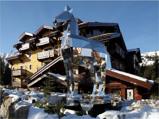 Cheval Blanc Courchevel, France.