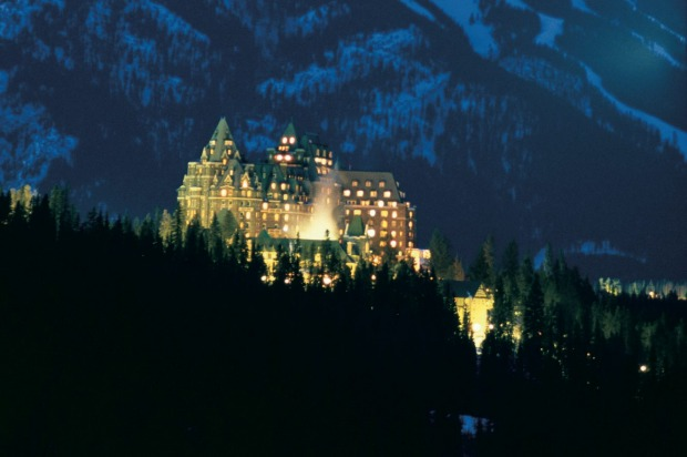 The Fairmont Banff Springs, Canada.