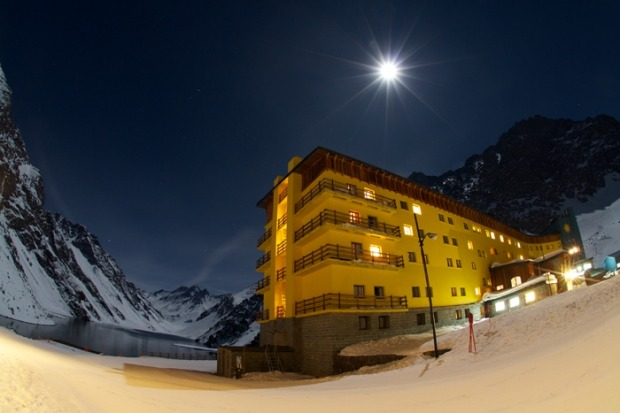 Hotel Portillo in Chile.