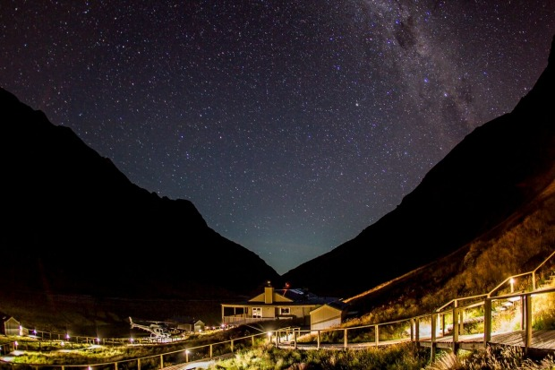 Minaret Lodge, New Zealand.