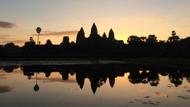 A half-day tour of Angkor Wat is included in the extension package.