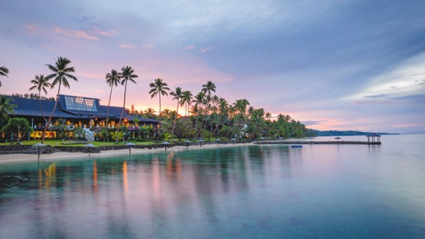Warwick Fiji Resort.
