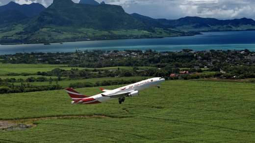Air Mauritius flies three times a week to Perth for six months of the year.