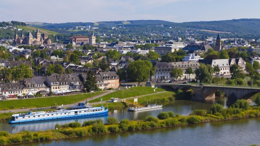 Trier and the Mosel River.